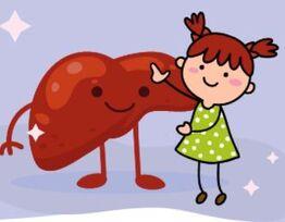 מחלות כבד בילדים